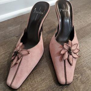 Mauve Linea Paolo Heels